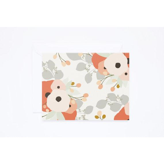 Floral Bouquet Note Card Set