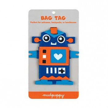 Robot Bag Tag