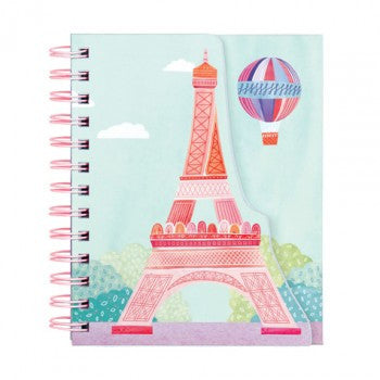 J'Adore Paris Layered Journal