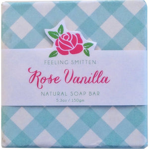 Rose Vanilla Soap Bar