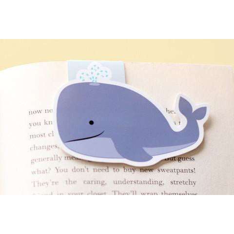 Whale Jumbo Magnetic Bookmark