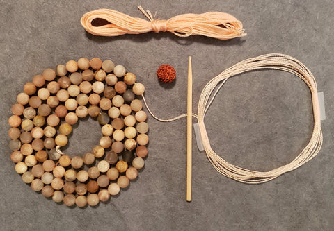 Blessings Mala Kit - Sunstone