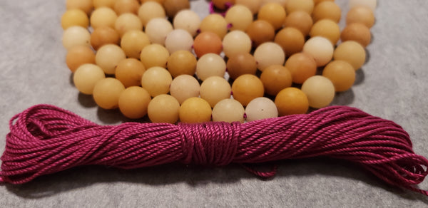 Tranquility Mala Kit - Yellow Jade