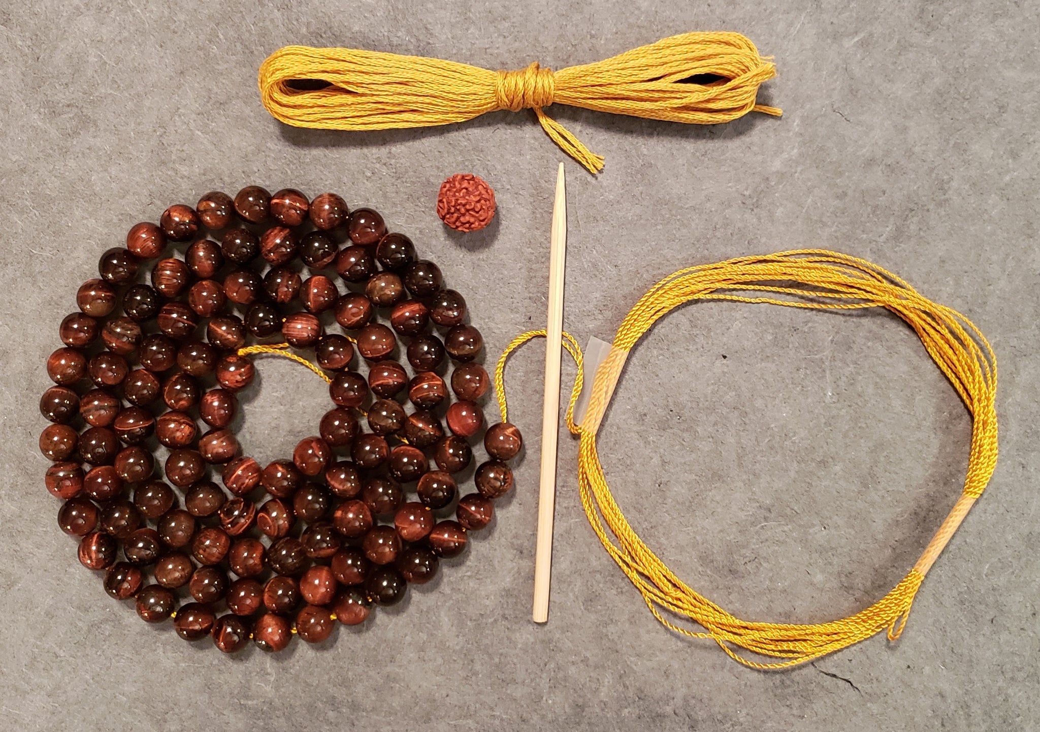 Vibrance Mala Kit - Red Tiger Eye