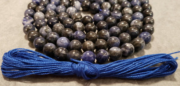 Deep Peace Mala Kit - Sodalite