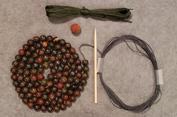 Courage Mala Kit - Tiger Iron