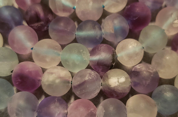 Clarity Mala Kit - Rainbow Fluorite