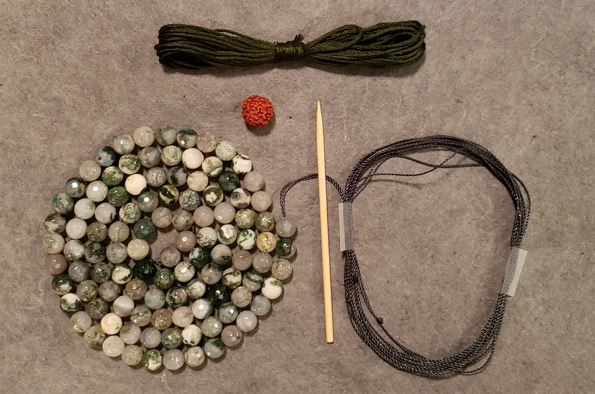 Self Mastery Mala Kit - Tree Agate