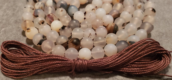 Equilibrium Mala Kit - Wind Shadow Agate