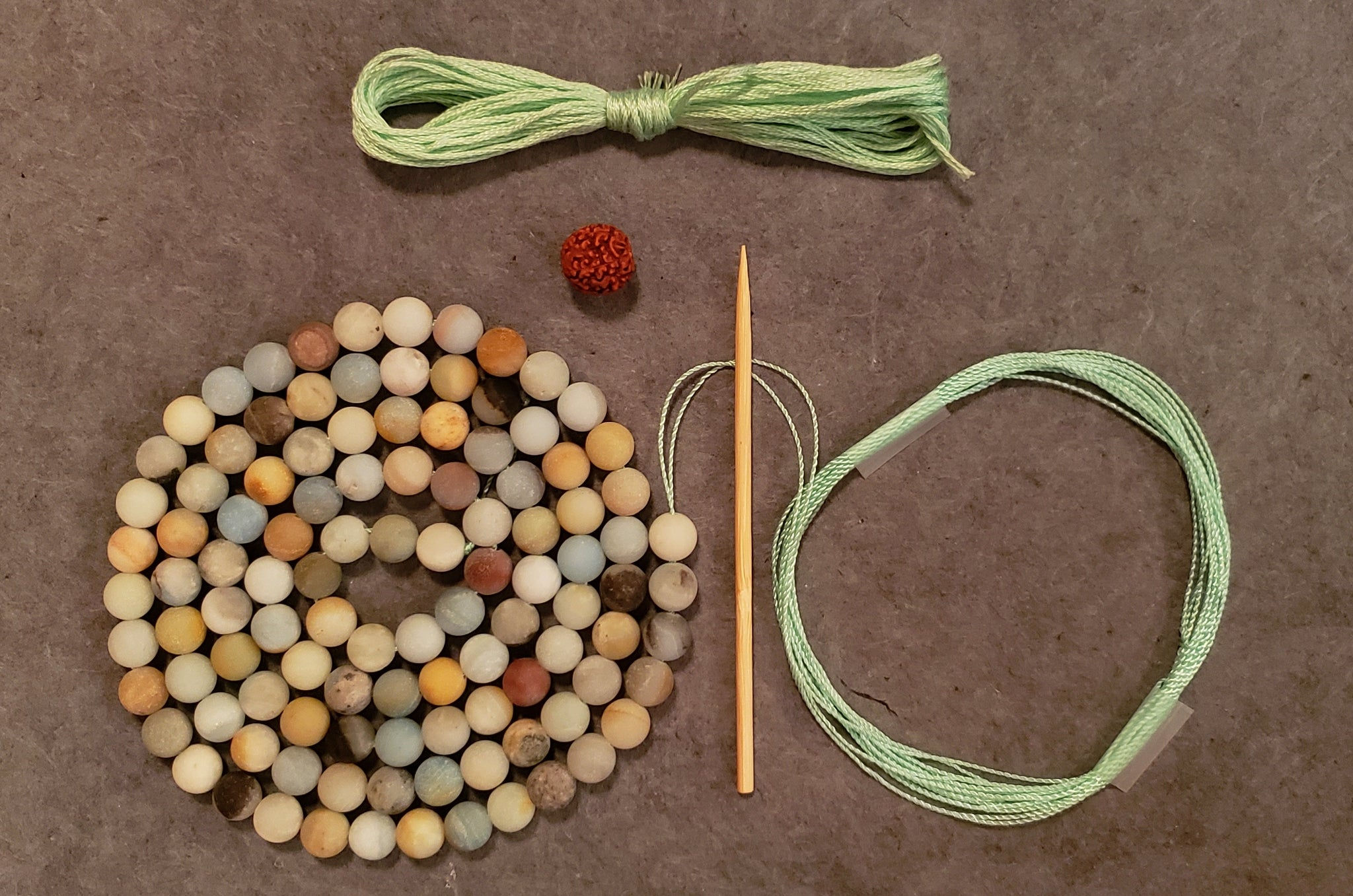 Inspiration Mala Kit - Amazonite