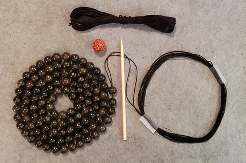 Authenticity Mala KIT - Astrophyllite
