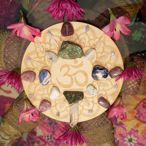 Calming and Deep Peace Crystal Grid Kit