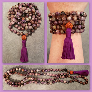Connection Mala - Charoite
