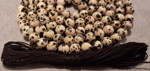 Purpose Mala Kit - Dalmatian Jasper