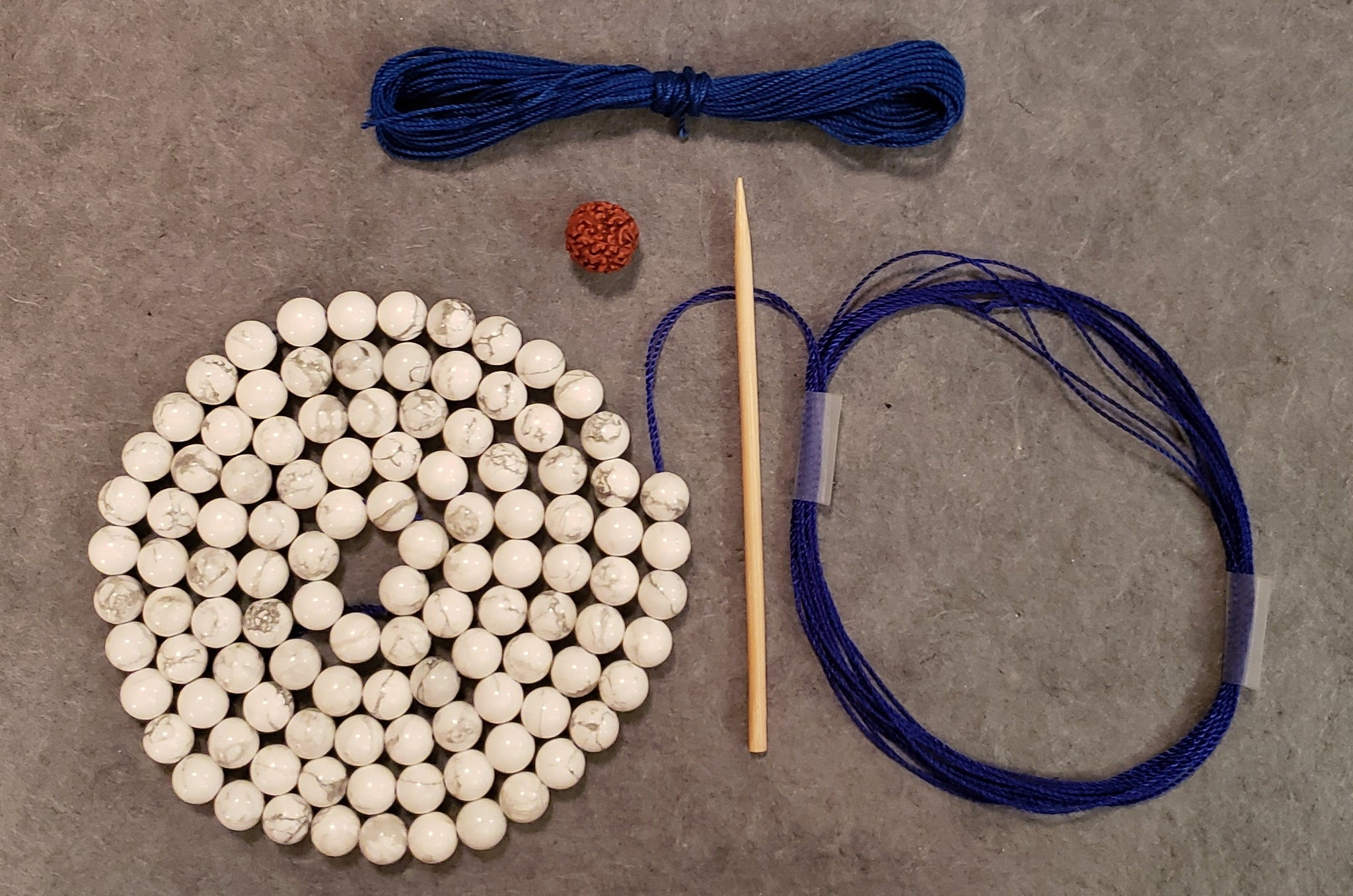 Calming Mala Kit - Howlite