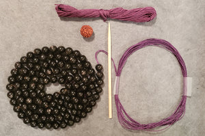 Unfolding Mala Kit - Hypersthene
