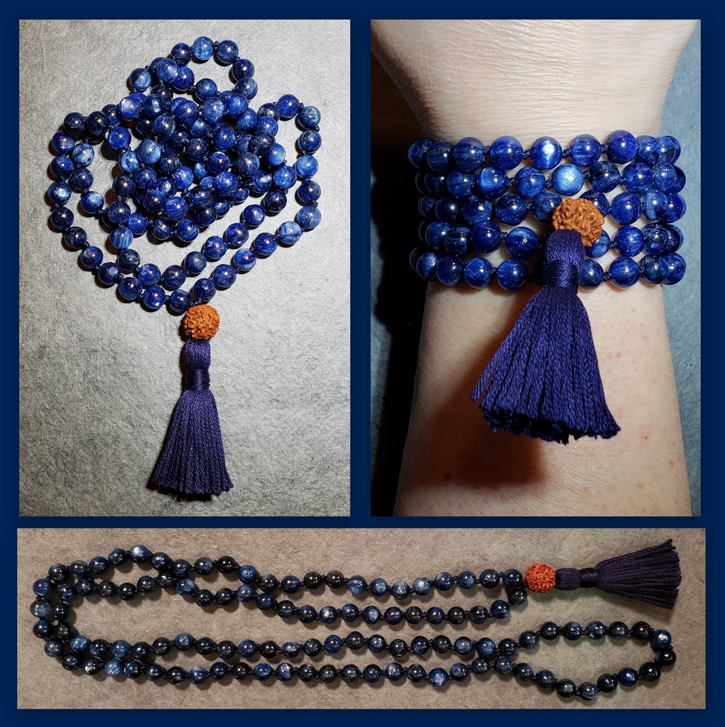 Bridge Mala - Kyanite