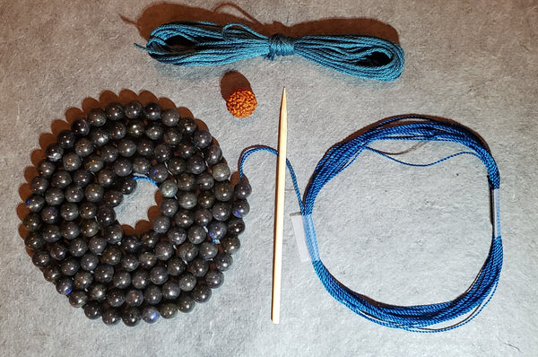 Intuition Mala Kit - Labradorite