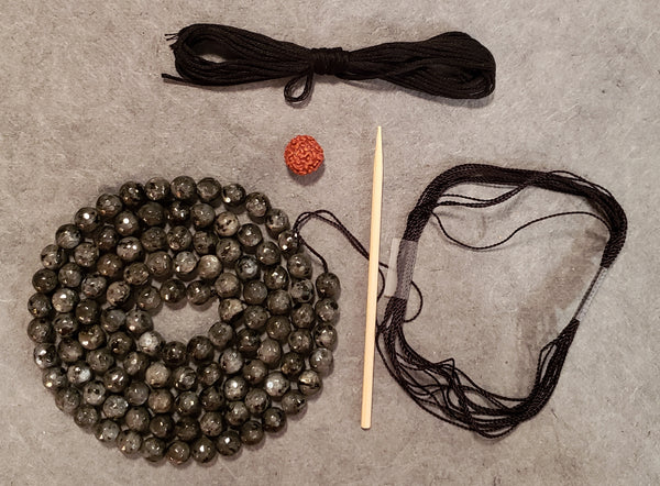Protection Mala Kit - Larvikite
