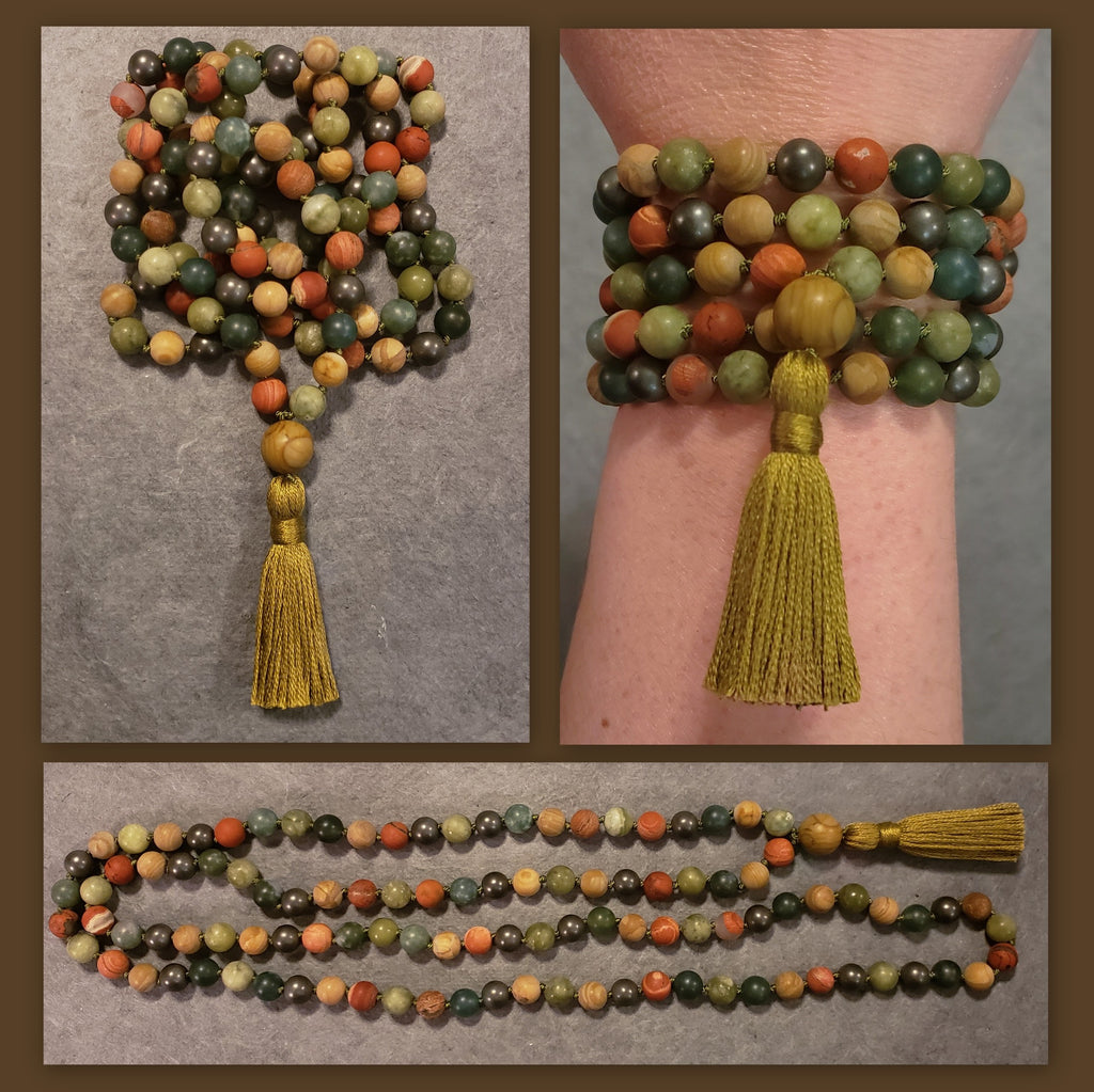 Elements Maha Mala - Earth