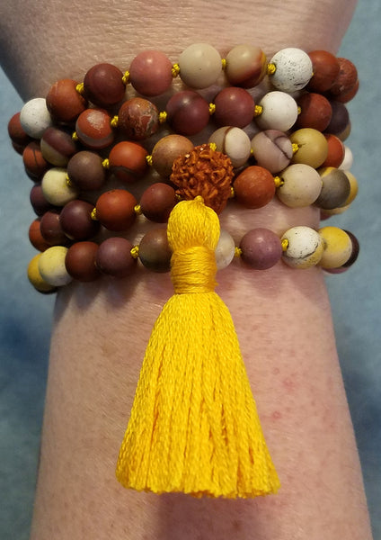 Guidance Mala - Mookaite