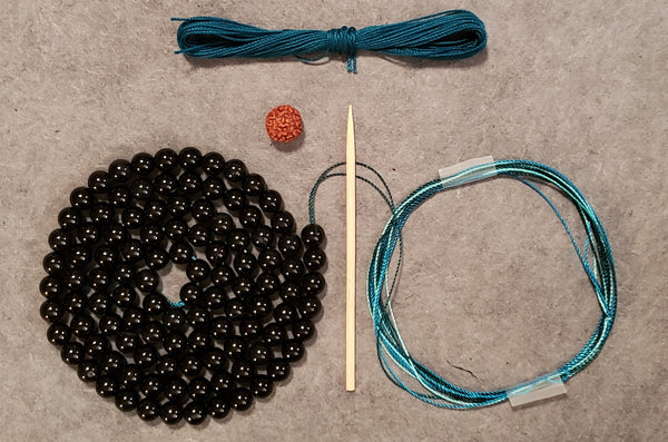 Strength Mala Kit - Onyx