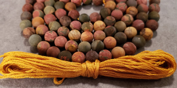 Joy Mala Kit - Picasso Jasper