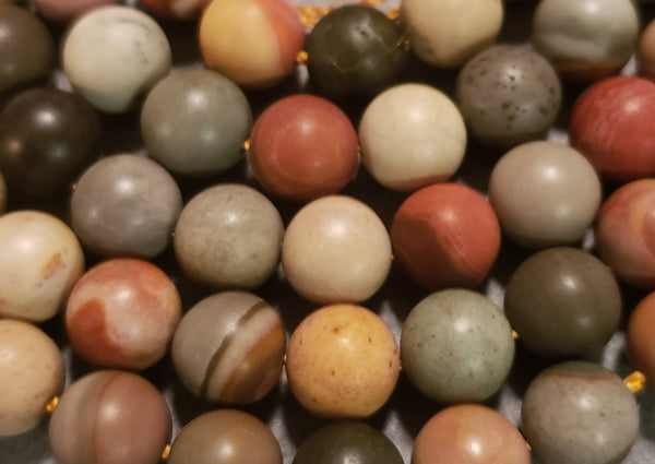 Alignment Mala Kit - Polychrome Jasper