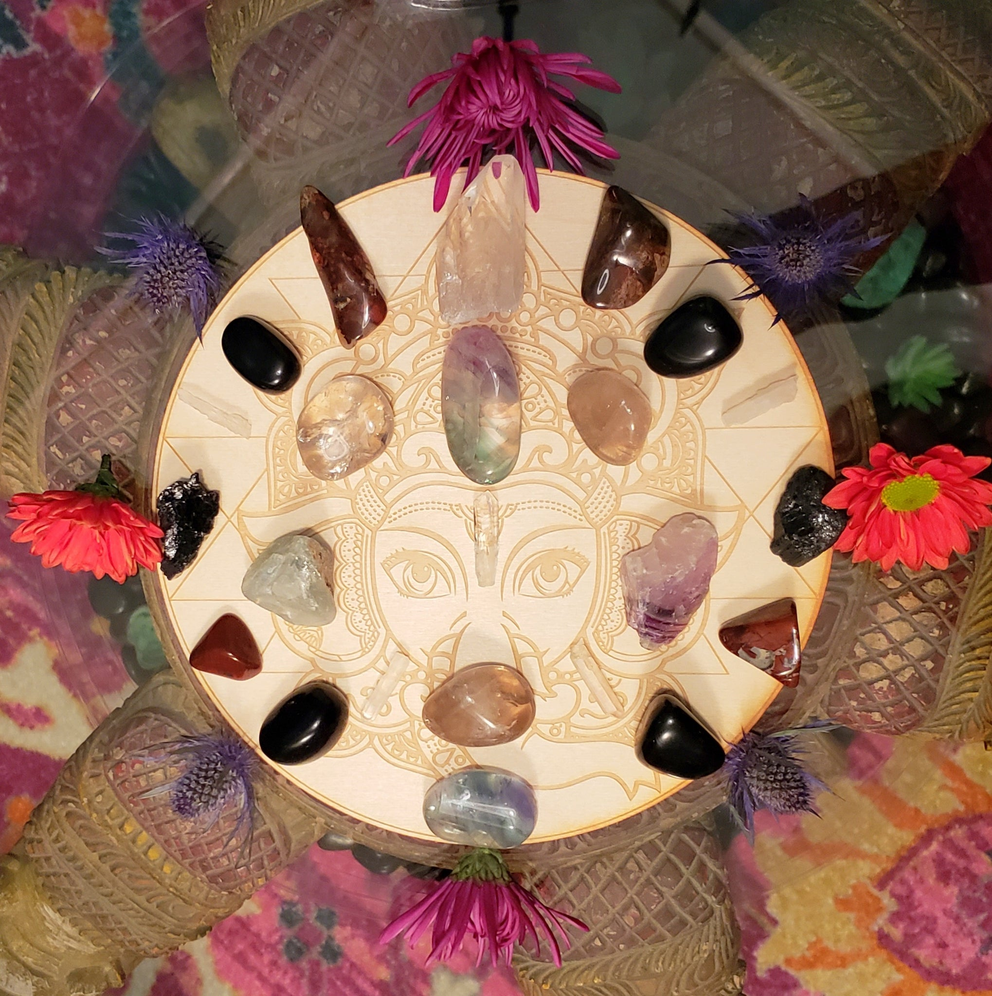 Protection and Grounding Crystal Grid Kit