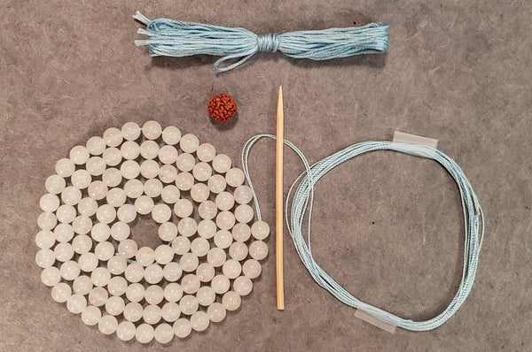 Wonder Mala KIT - Snow Quartz