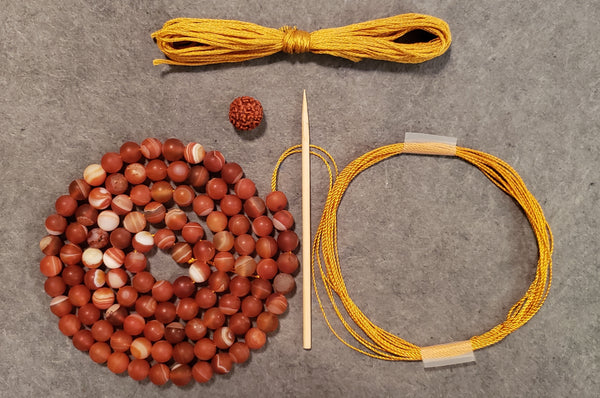 Equilibrium Mala Kit - Lake Superior Agate