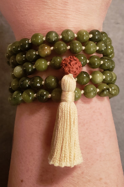 Dream Mala - Taiwan Jade