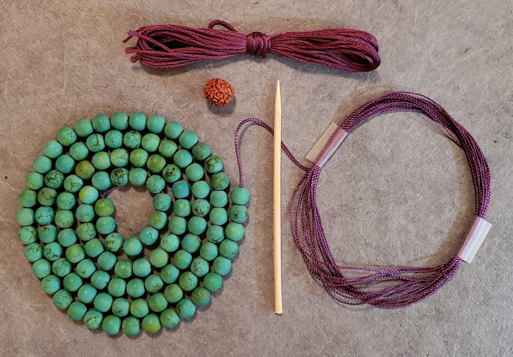 Higher Truth Mala Kit - Tibetan Turquoise