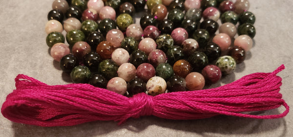 Purification Mala Kit - Watermelon Tourmaline