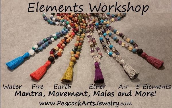 September 22nd Equinox Elements Workshop - Movement, Mantra and Malas!  $80 - $108 choose your option: