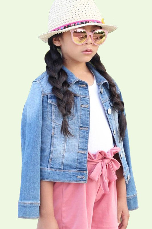 Girls Denim Jacket
