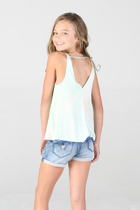 Tie Dye Swing Tank Top
