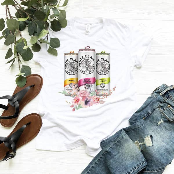 White Claw Graphic Tee
