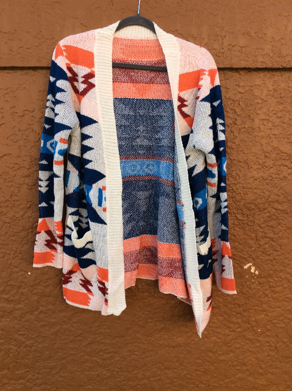 Aztec Pocket Cardigan