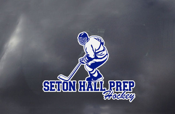 Seton Hall Prep Hockey Decal