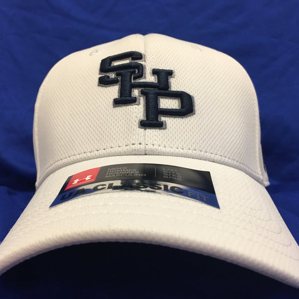 New  White Under armour classic fit hat
