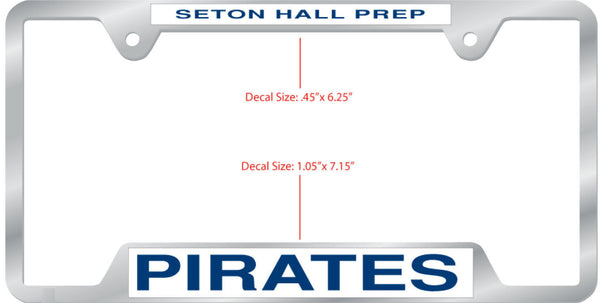 Seton Hall Prep Pirates License Plate Frame