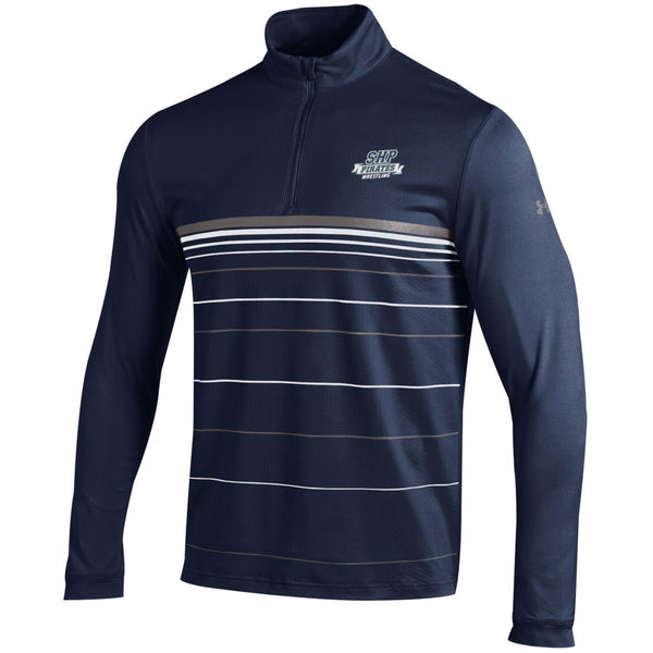 NEW   Under Armour 1/4 Zip    Navy   SHP Wrestling