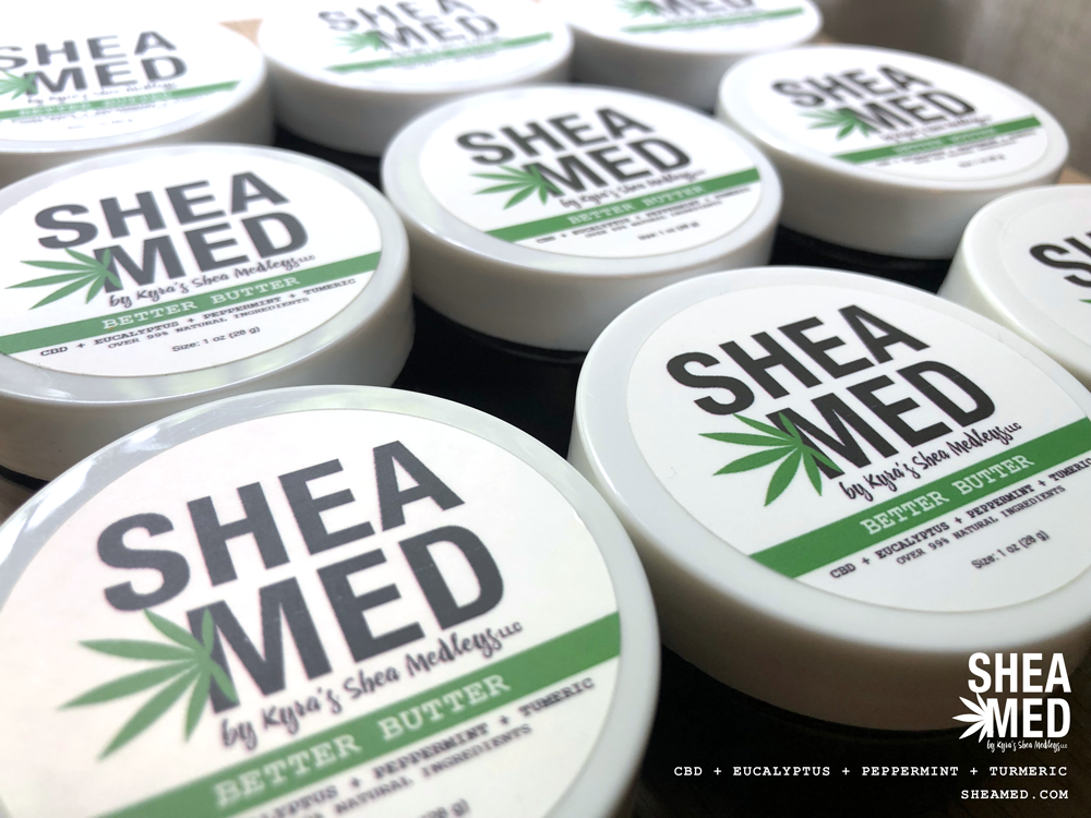 CBD Products on Shea Med by KSM