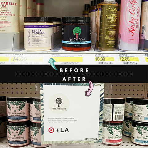 Visualizing our products inside of Target and it becoming a reality