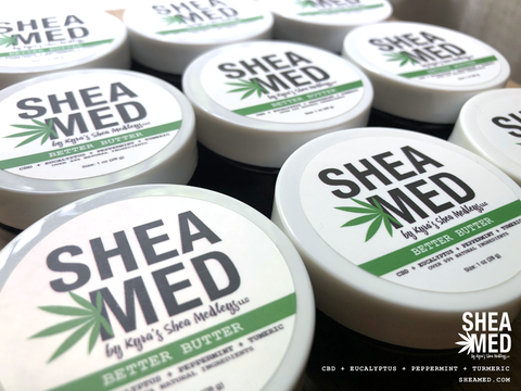 Better Butter for beauty care and pain relief at www.sheamed.com