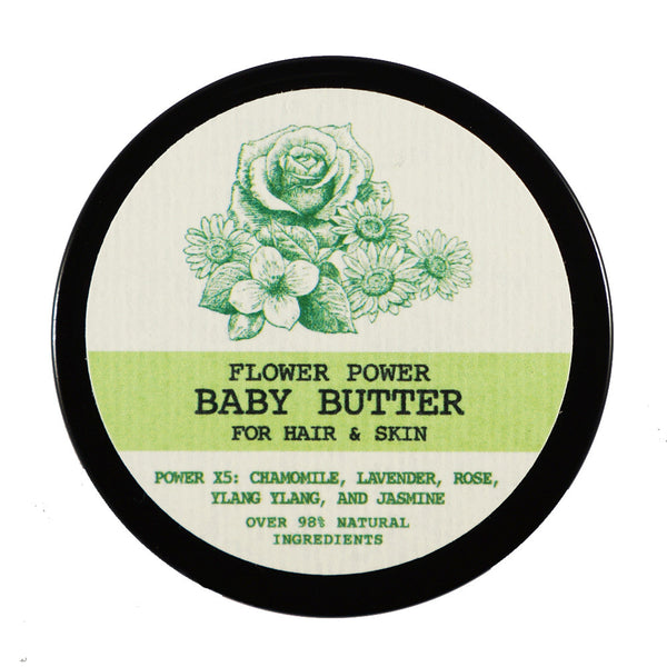 Flower Power Baby Butter