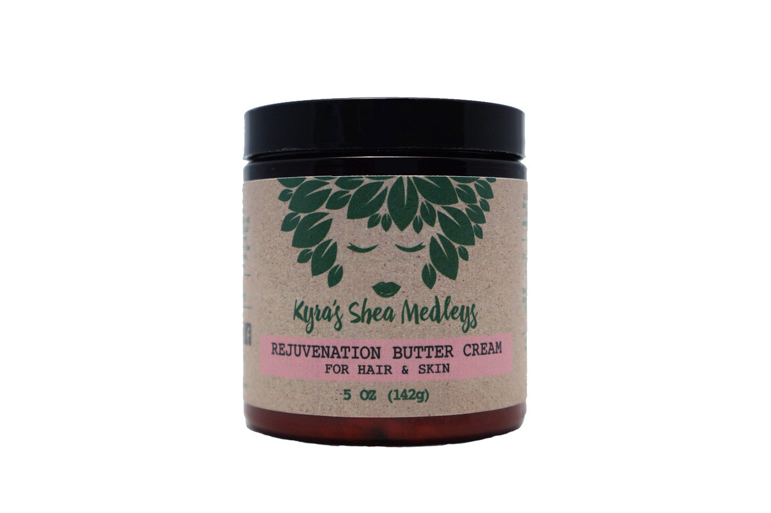 Rejuvenation Shea Butter Cream Balm with Cocoa, Kokum and Peppermint for Hair, Skin and Nails