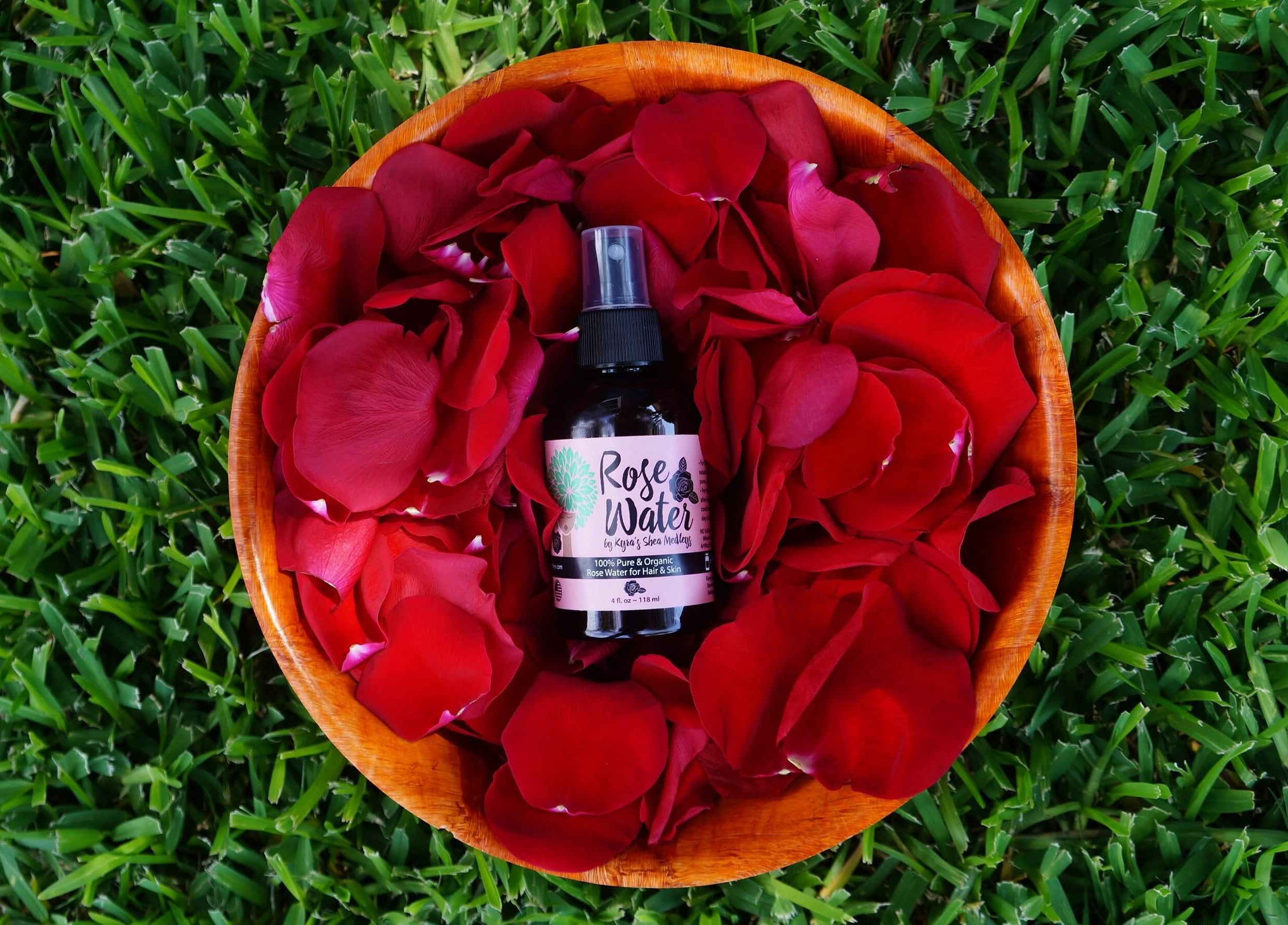 Rose Water - Floral Water for Natural Hair and Skin