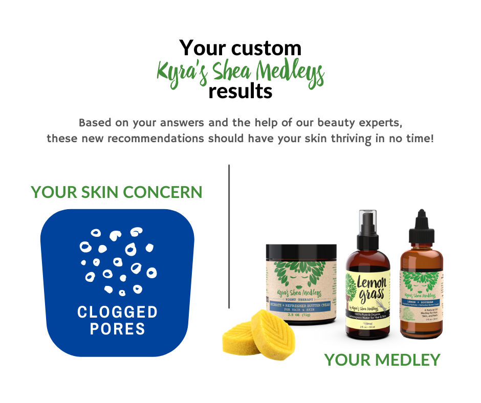 Based on your answers and the help of our beauty experts, our Lemon + Soybean Medleys should have your skin thriving in no time!